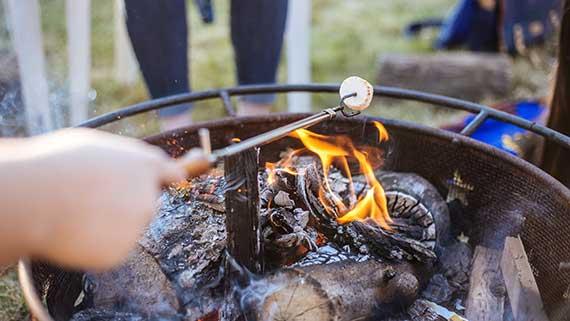 Backyard Camping Staycation